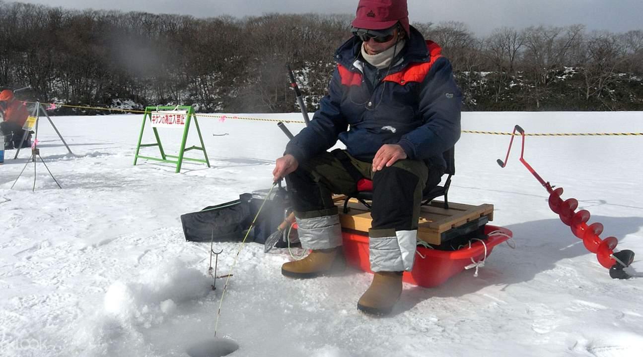 北海道 冰钓