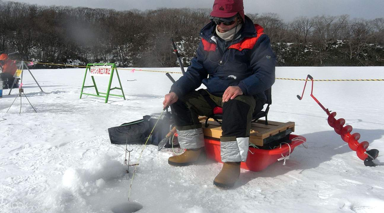 hokkaido ice fishing