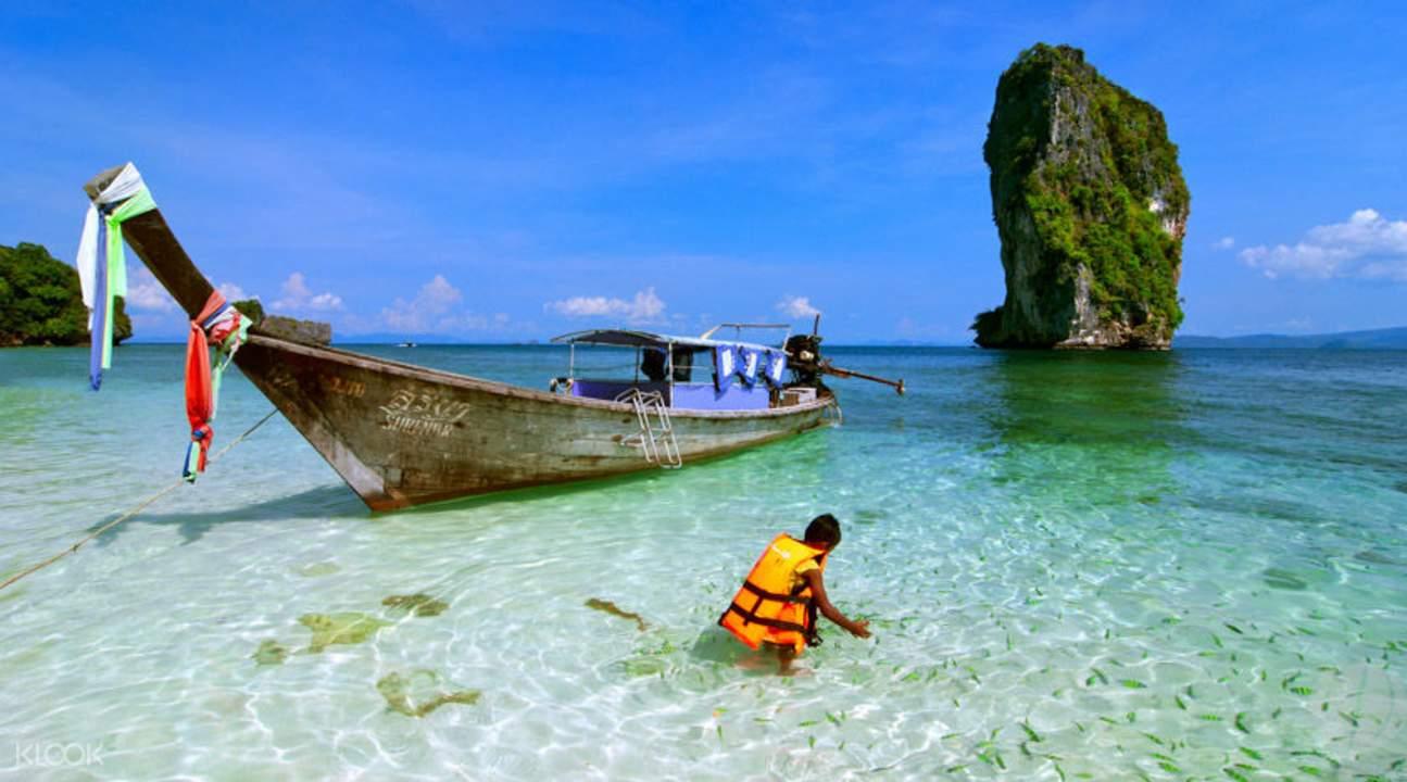 普吉岛甲米四奇岛一天游