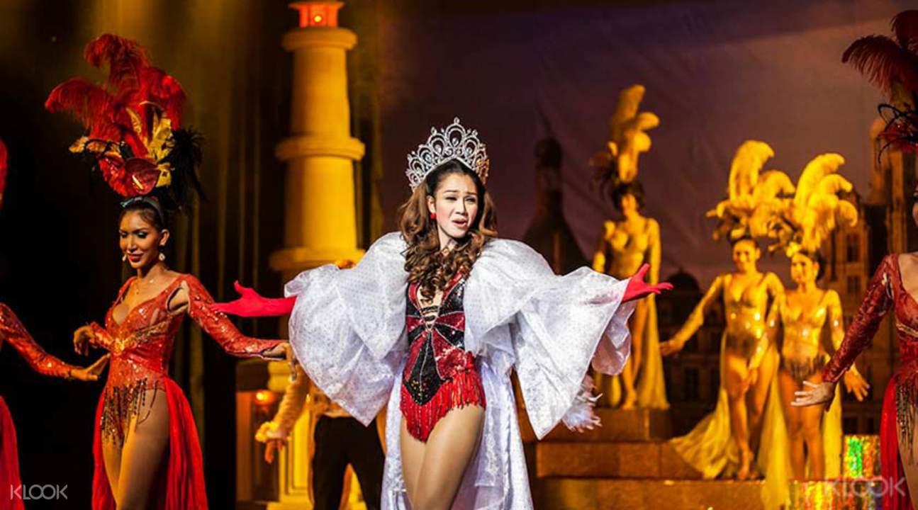 Golden Dome cabaret Bangkok