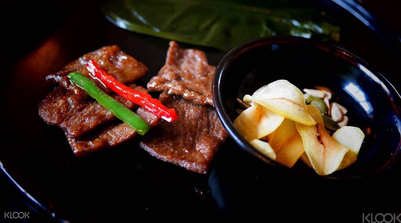 Intermediate Korean cooking class