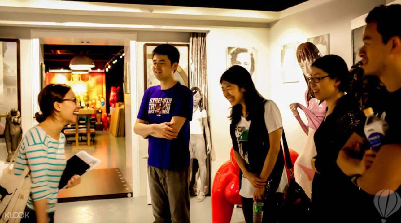 香港參觀畫展