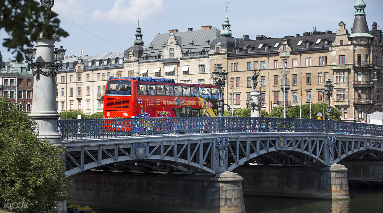 Stockholm City Sightseeing Bus PassStockholm sightseeing bus tour