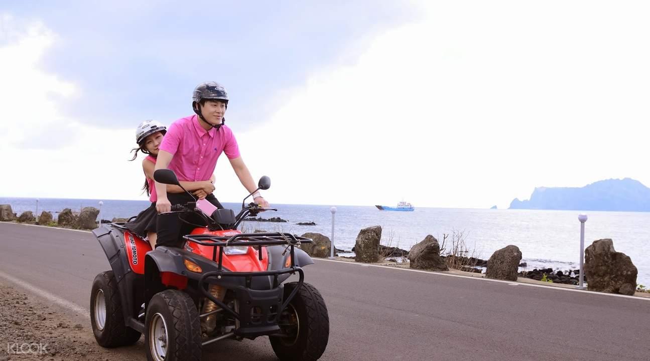 济州岛轭头沙滩车