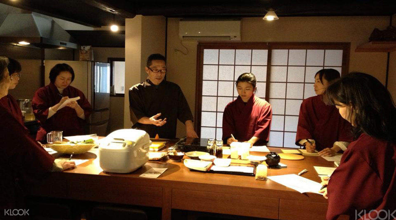 Kyoto Japanese cooking class in English