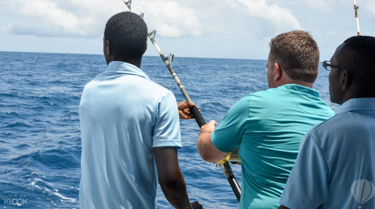 Deep sea fishing in Mauritius