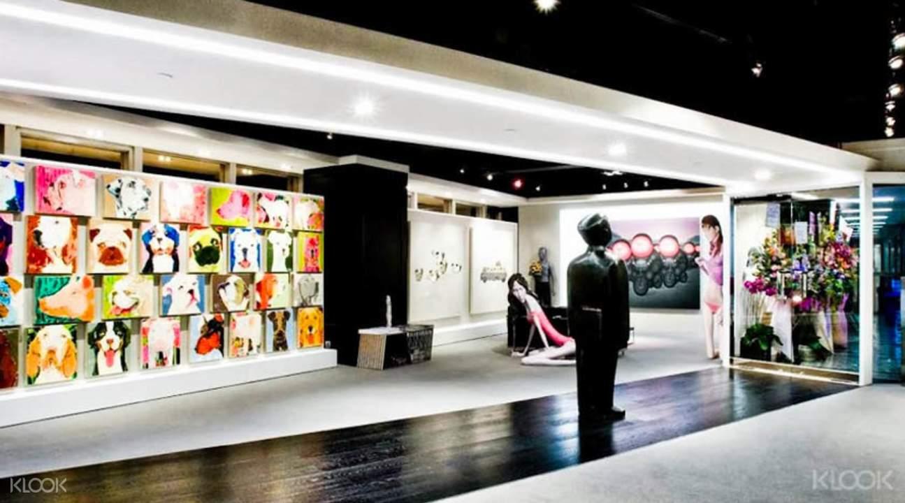 香港soho艺术画廊