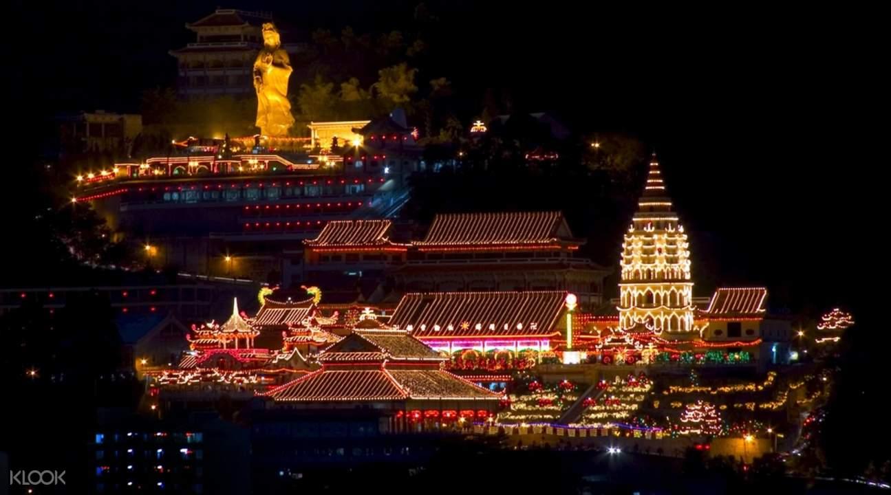 槟城山和古寺观光游