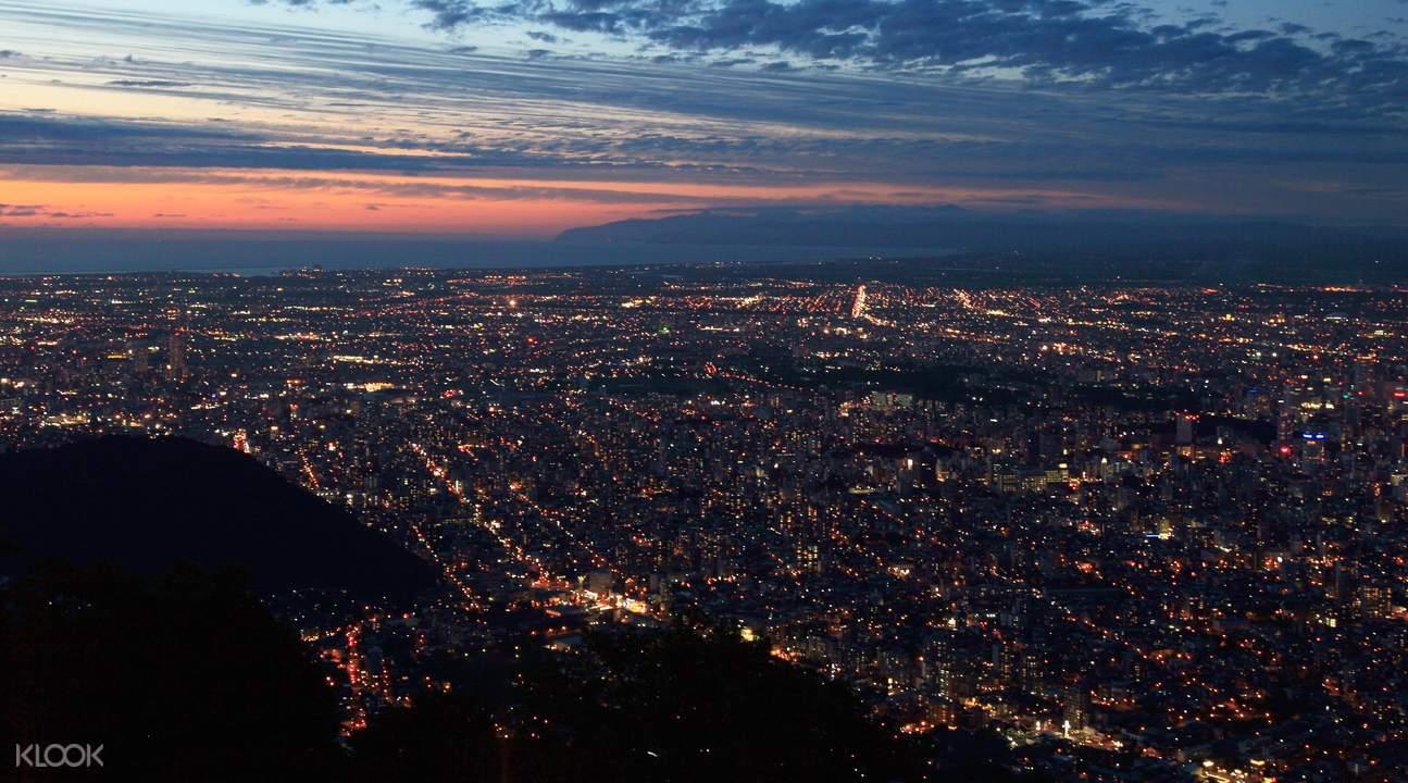 日本新三大夜景 北海道 札幌