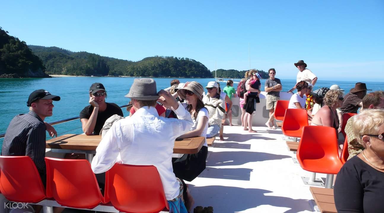 abel tasman cruise trip