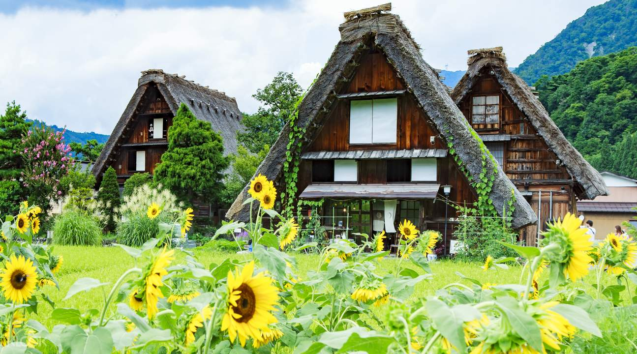 japanese farmhouses