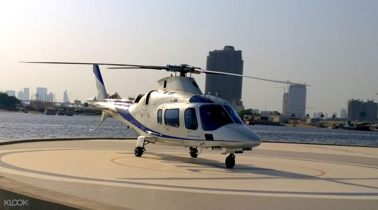 Dubai Helicopter Flight
