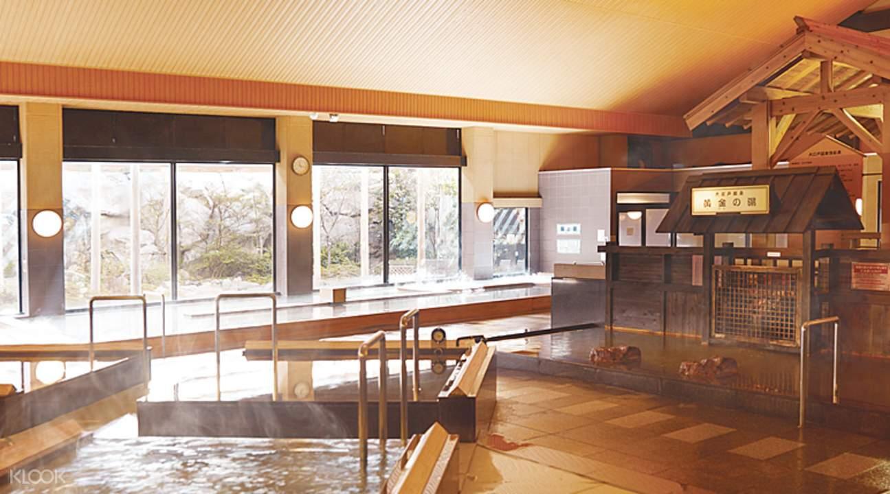 东京大江户温泉物语各种温泉