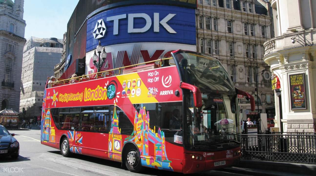 倫敦敞篷觀光巴士