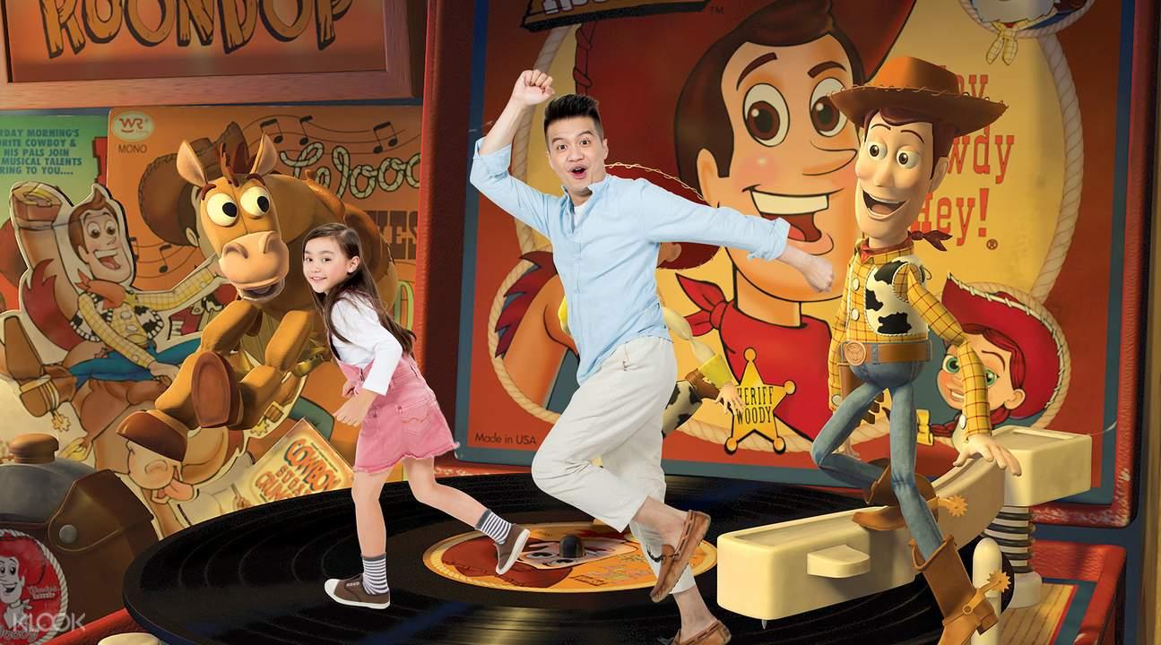 香港迪士尼4D奇幻馆玩具总动员