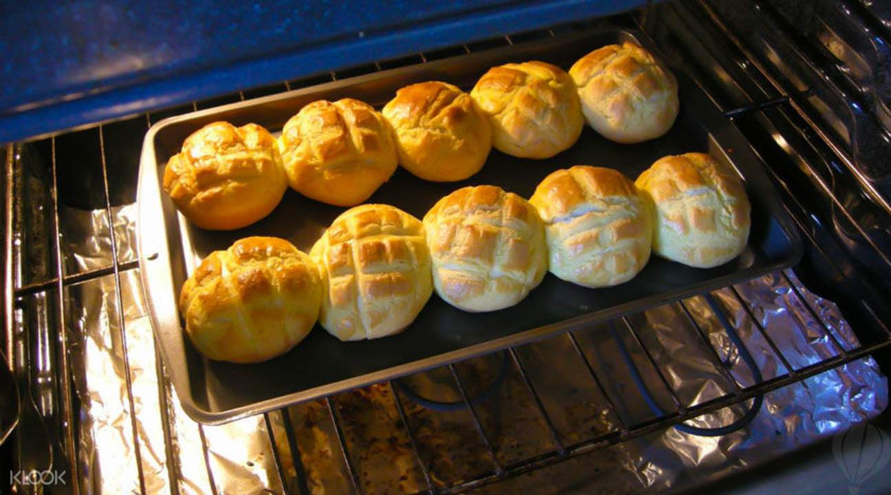 pineapple bun pastries
