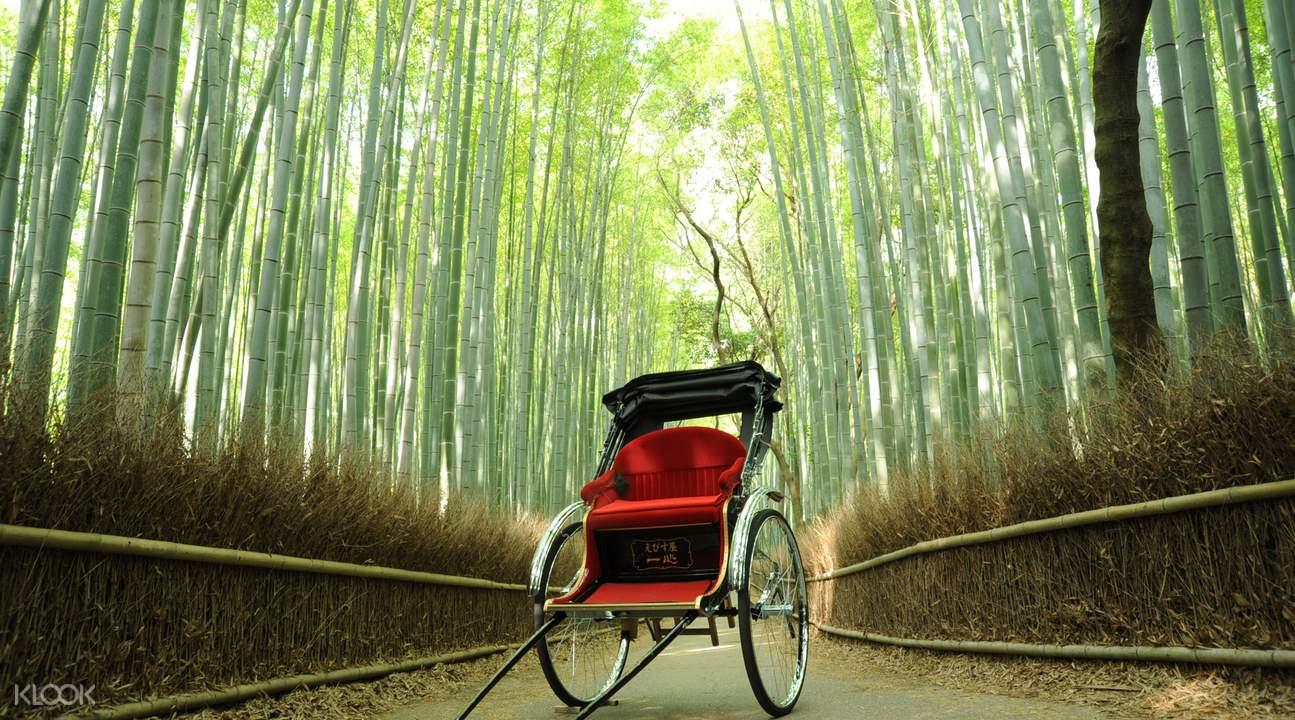 Arashiyama rickshaw ride