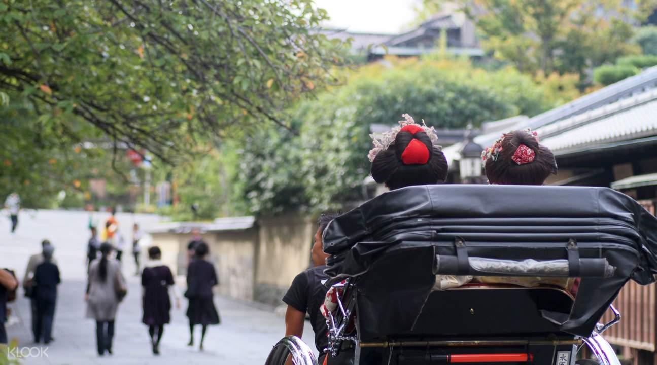 Kyoto rickshaw ride
