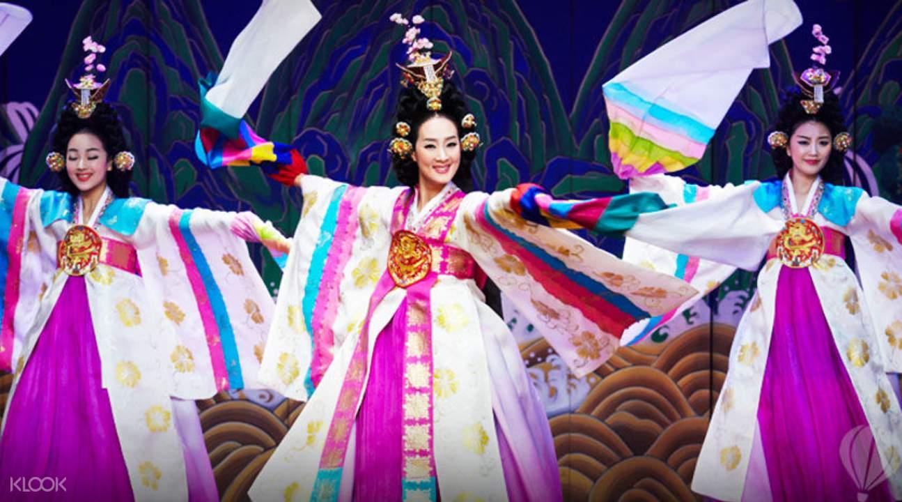 传统韩国歌舞