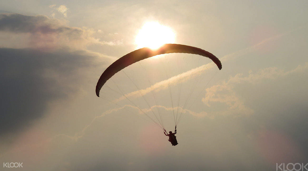 Paragliding in Taiwan