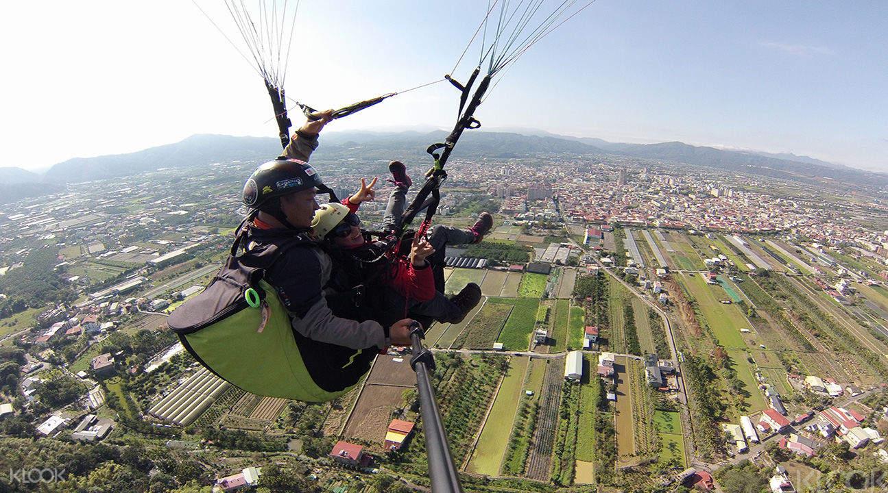 paragliding Taiwan,