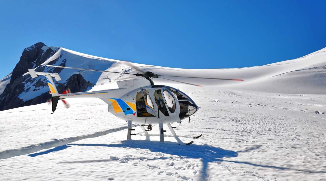 米尔福德峡湾直升机观光