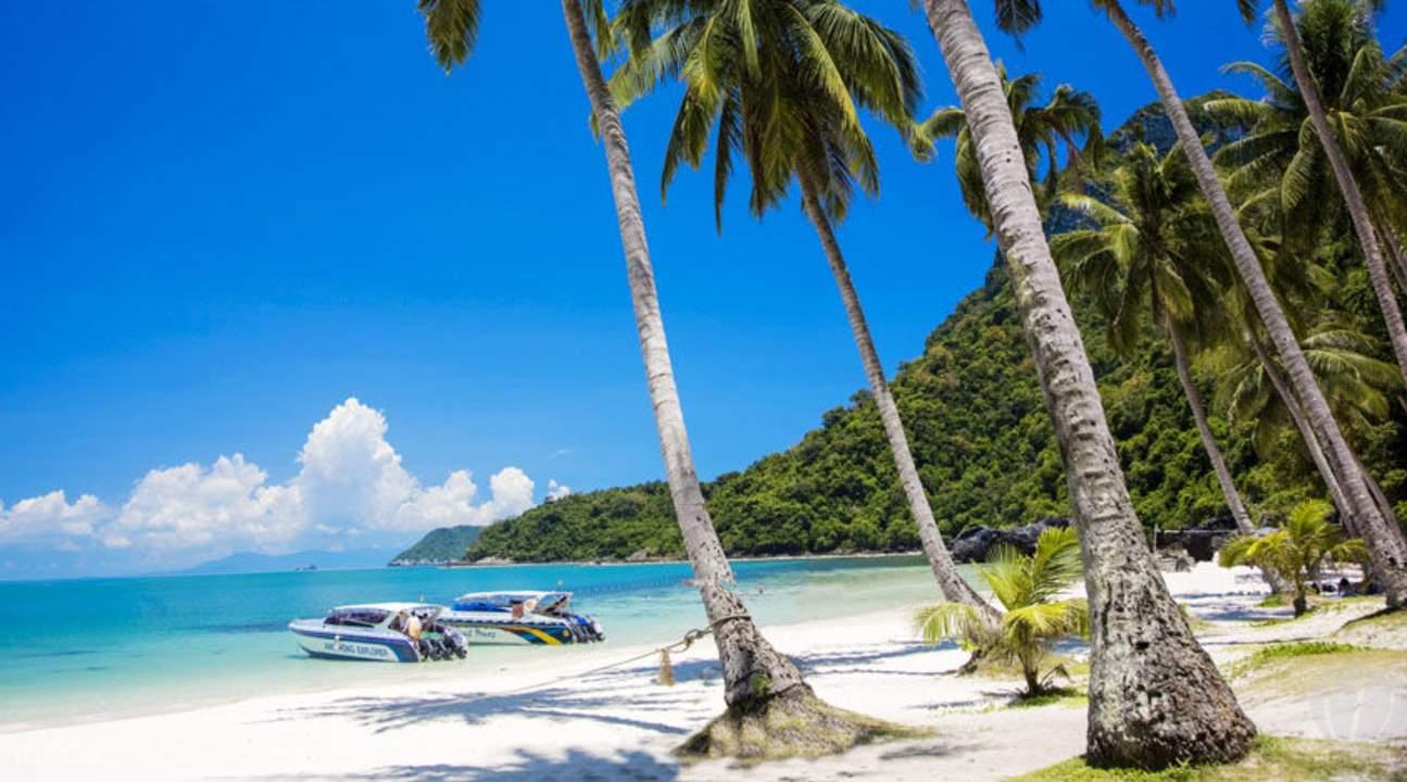 泰國蘇梅安通島美景與海洋探索