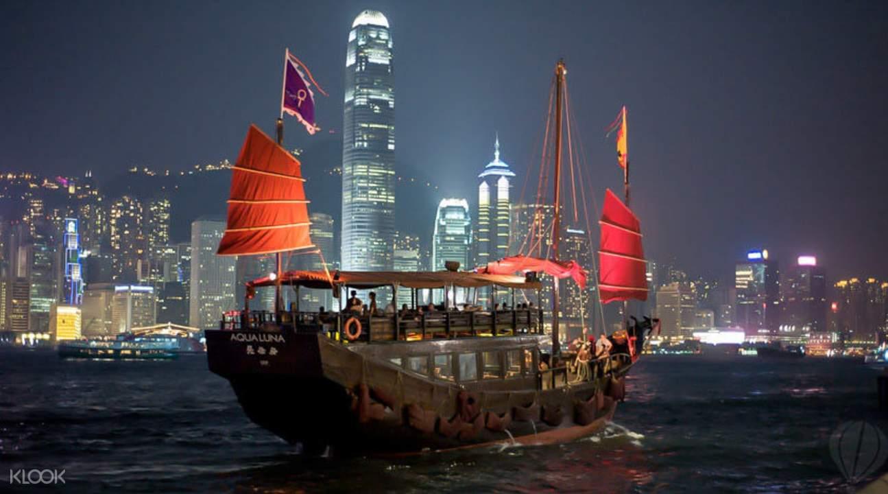 中国ジャンク船