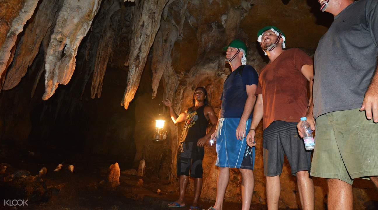 長灘島洞穴探險