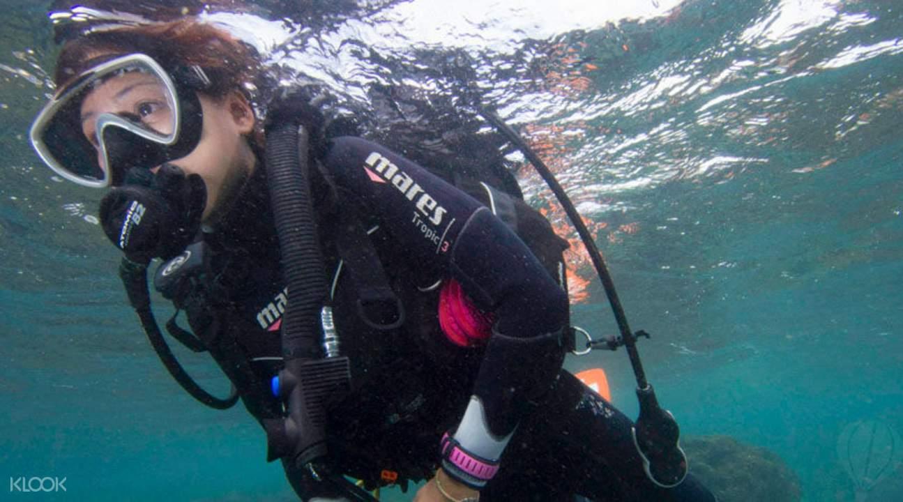scuba diving kenting