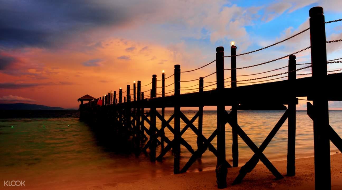 亚庇海岛浪漫之旅