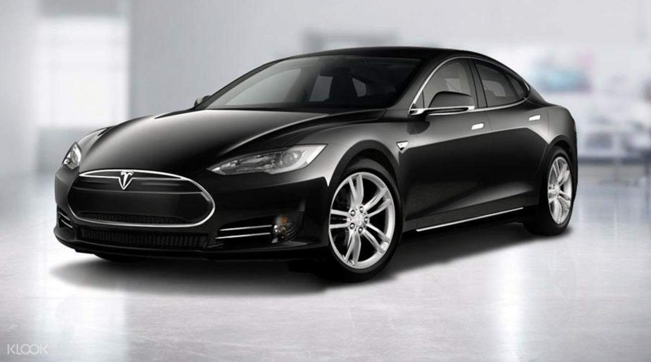 tesla airport transfer