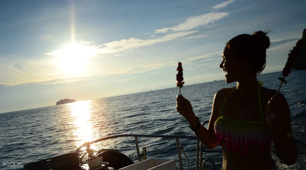 luxury yacht Krabi