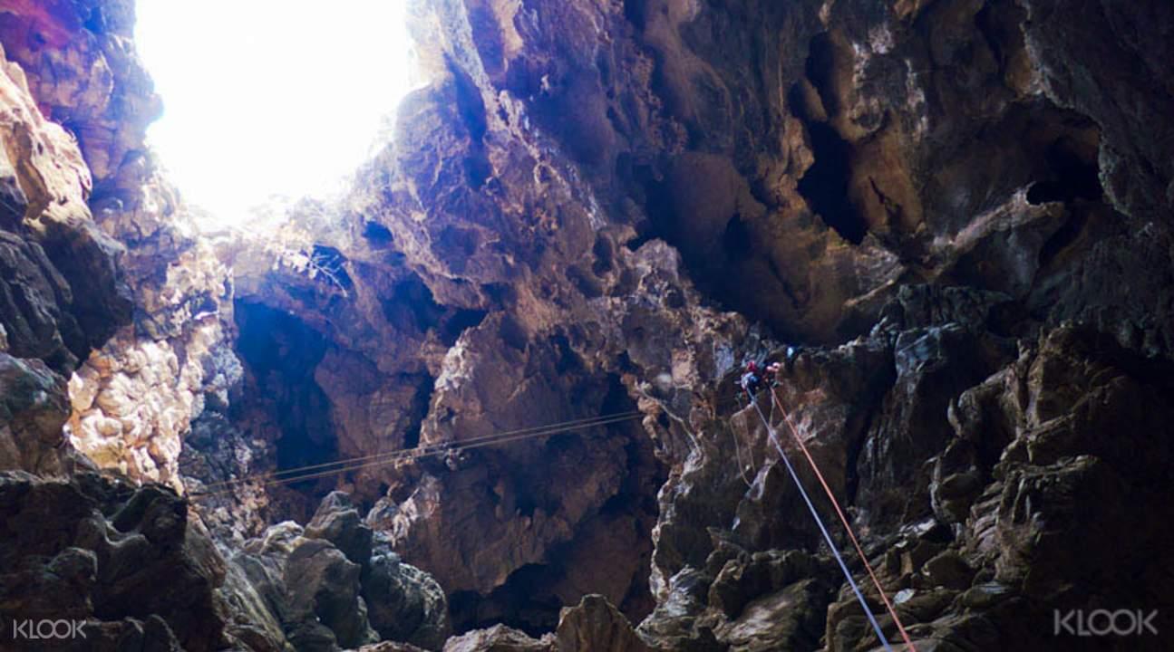 清邁洞穴探險