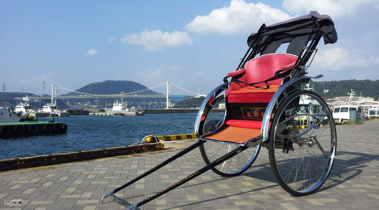 Kyushu rickshaw tour