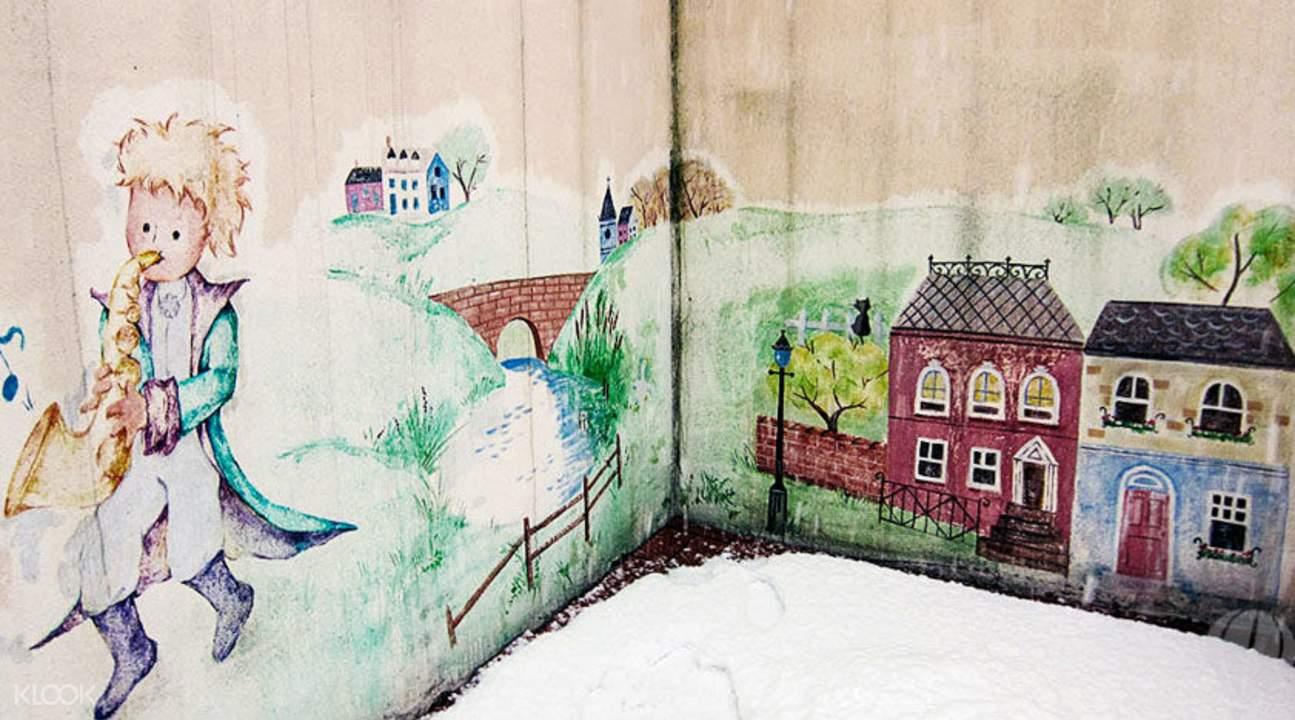 小法兰西村壁画