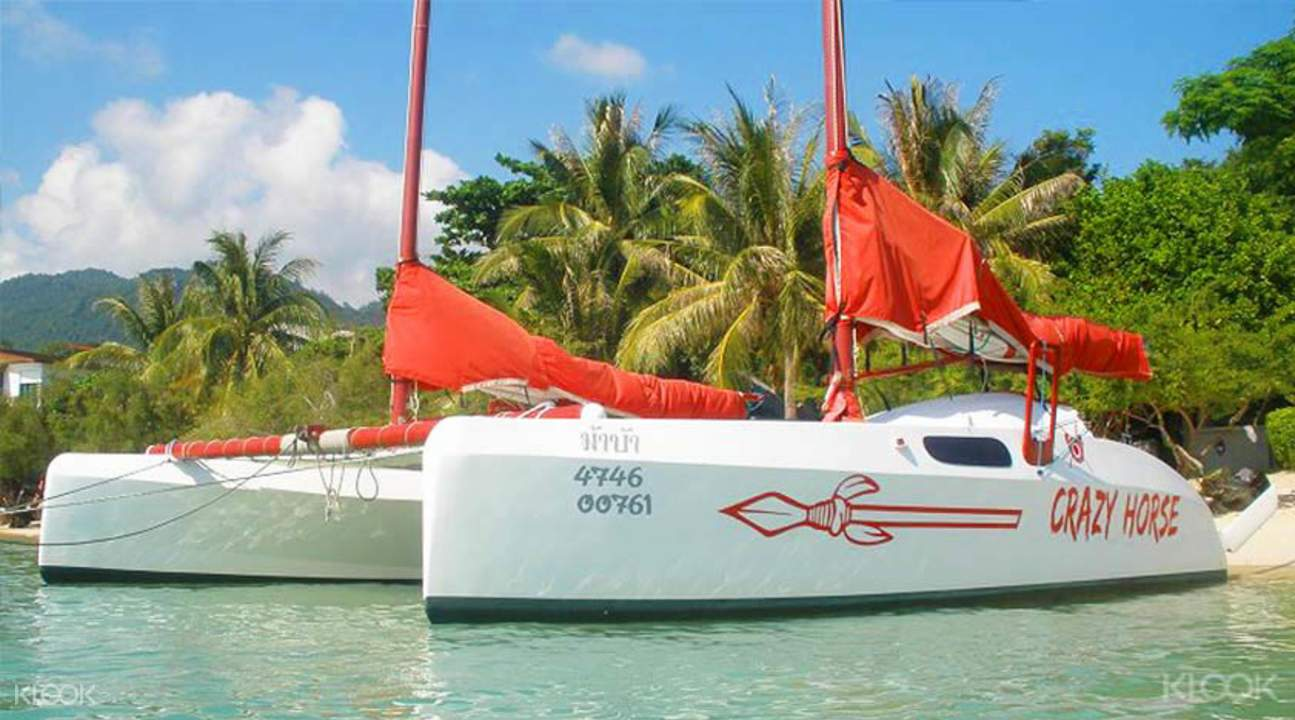 私人帆船蘇梅海上游