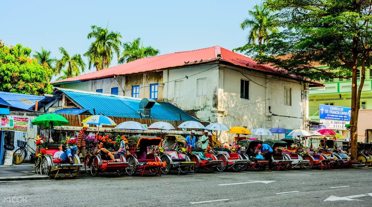 Heritage Trishaw Ride Penang
