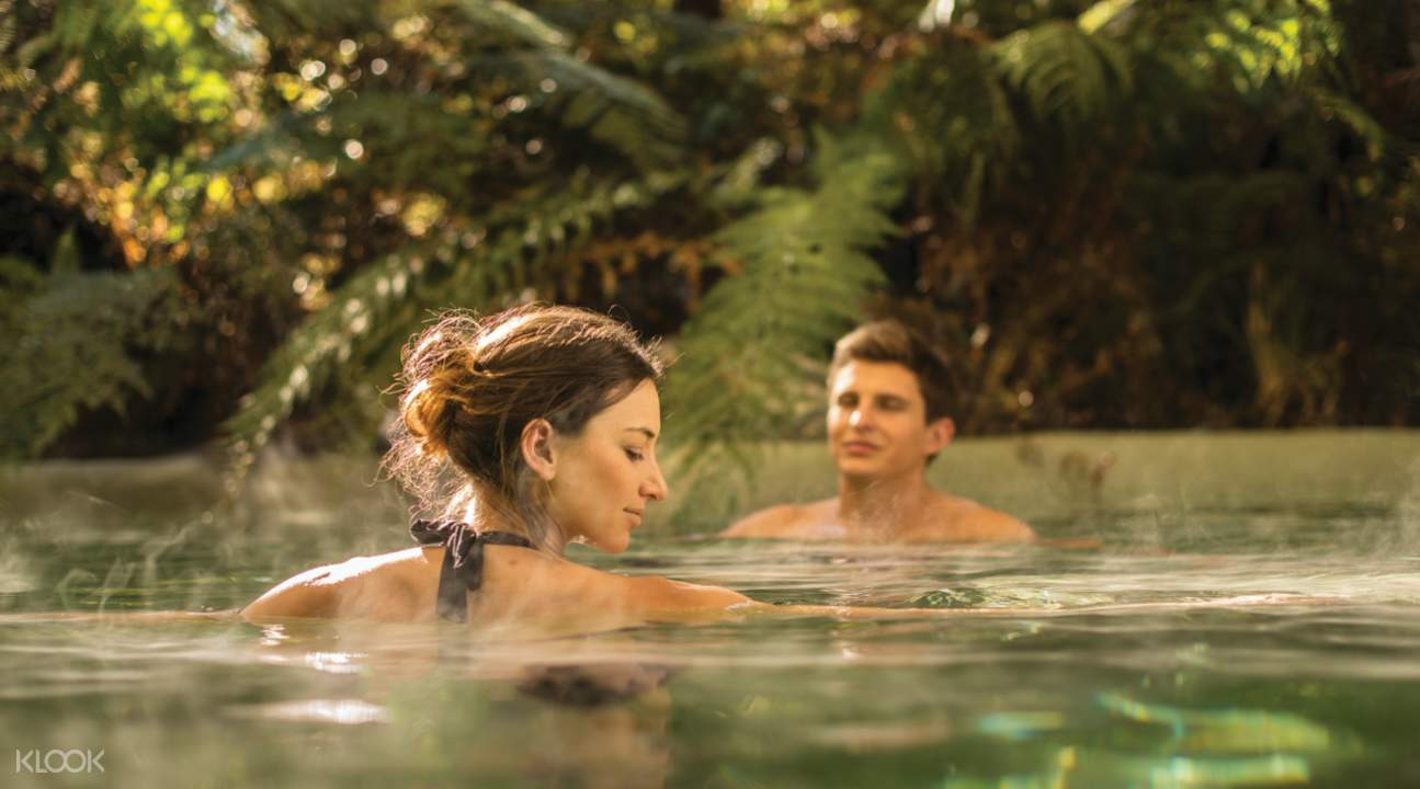 Franz Josef Glacier Hot Pools admission