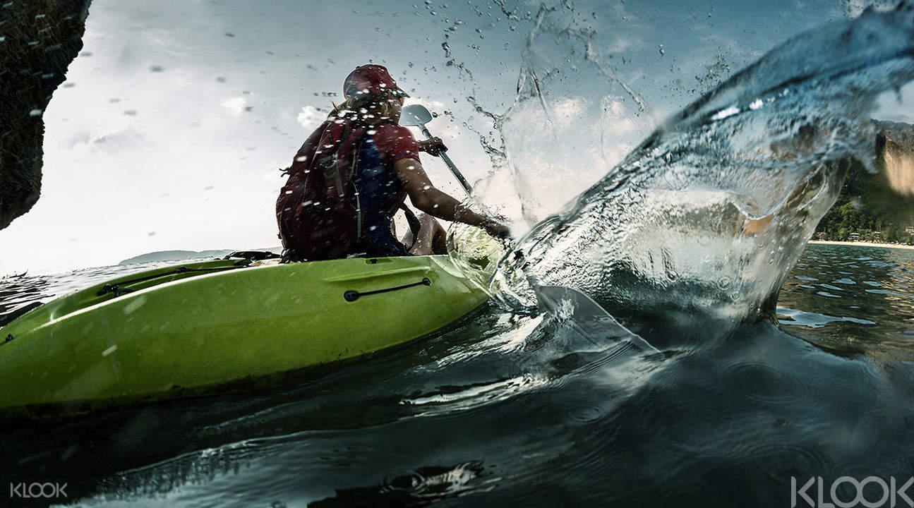 清迈皮划艇