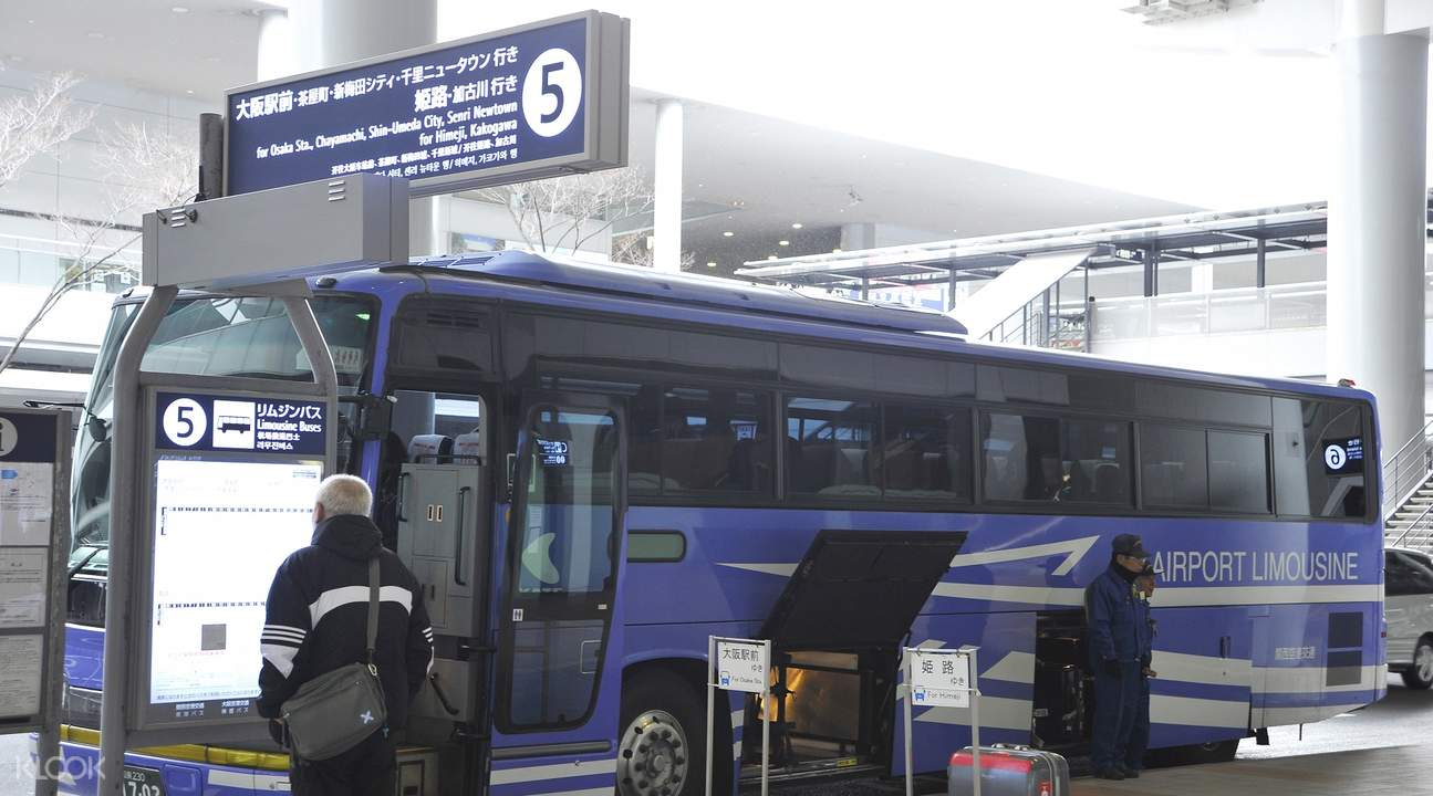 kansai airport bus ticket