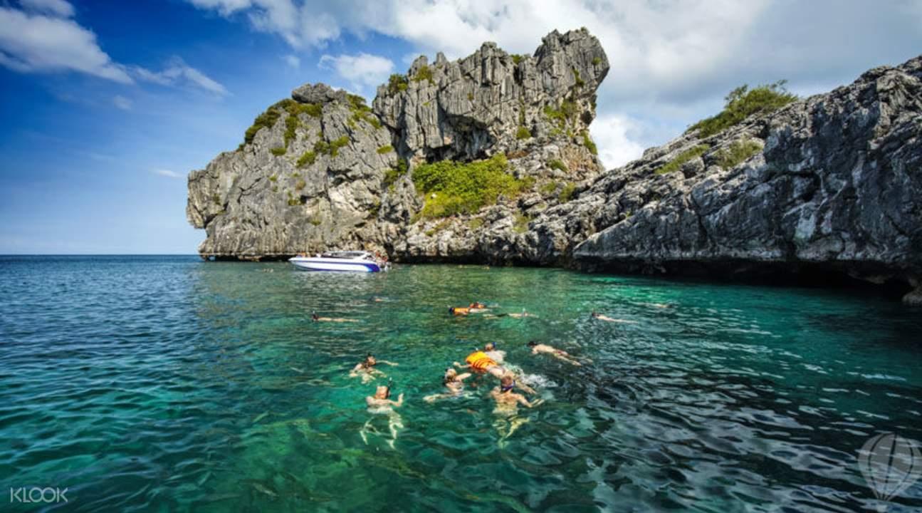 泰國蘇梅安通美景與海洋探索