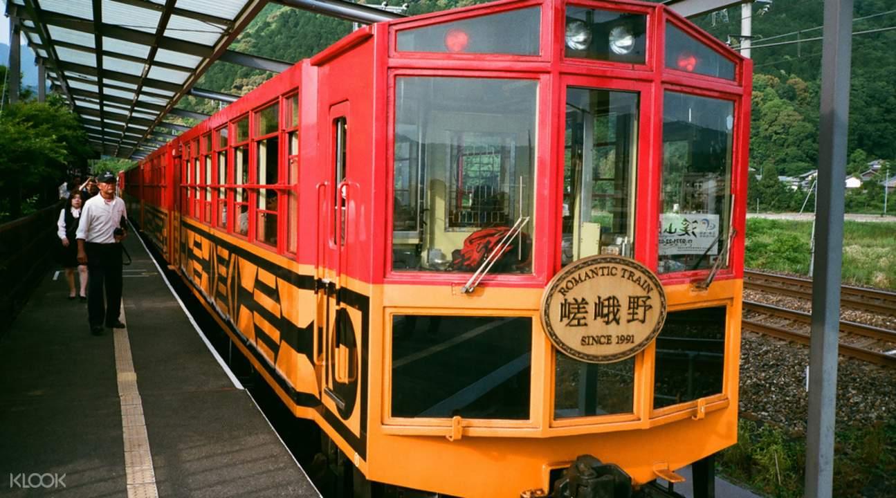嵯峨野小火车