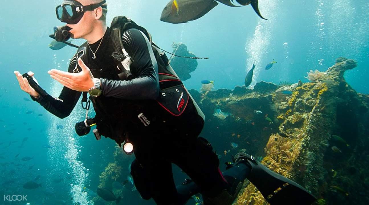 巴厘岛PADI潜水课程2