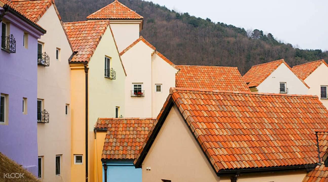 法兰西村建筑