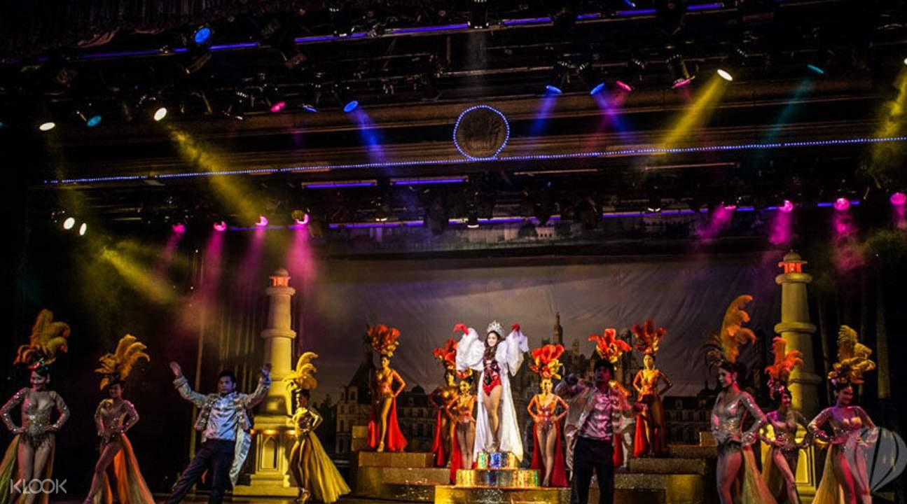 Lady boy cabaret Bangkok