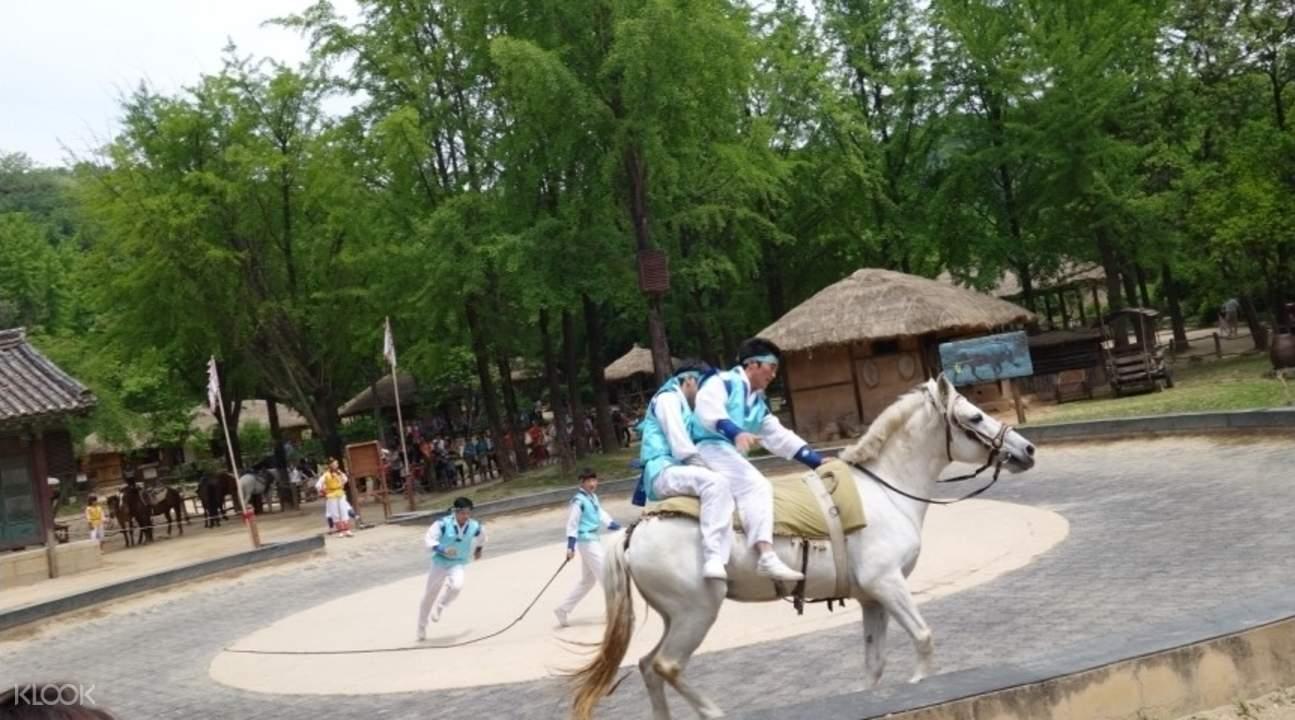 水原華城、韓國民俗村一日游