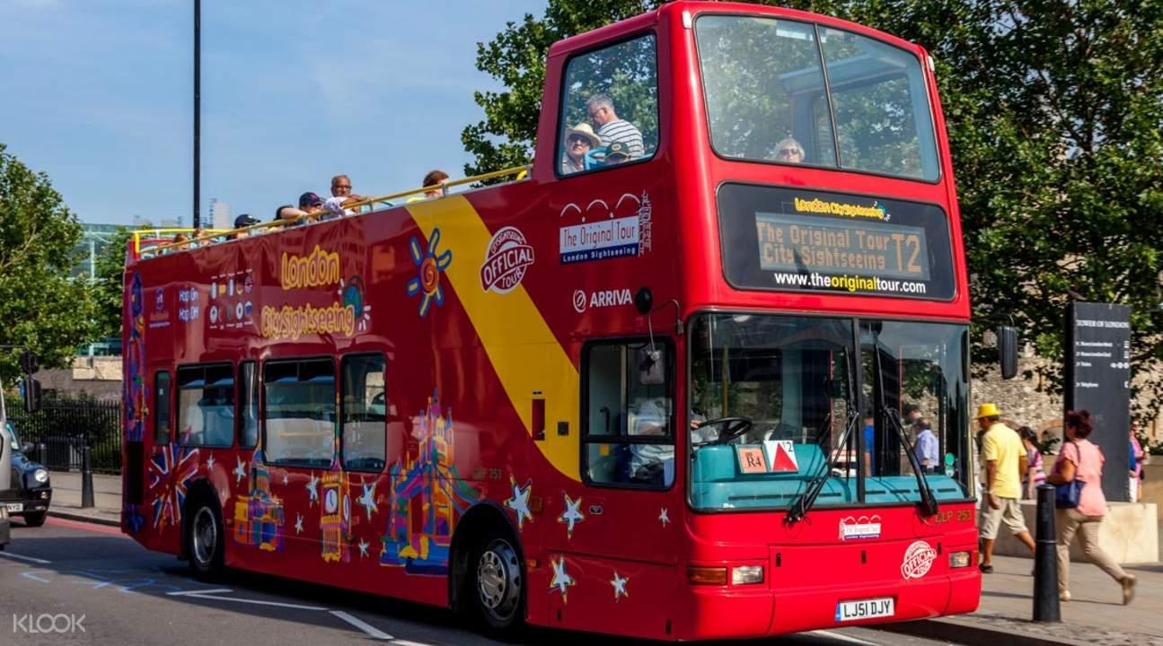 london sightseeing bus pass