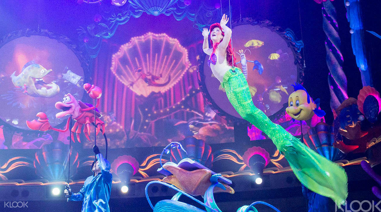 東京迪士尼/迪士尼海洋小美人魚表演