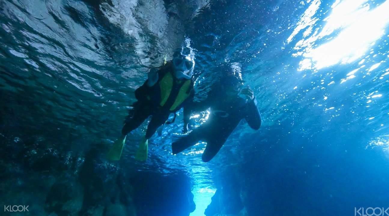 青洞潜水1